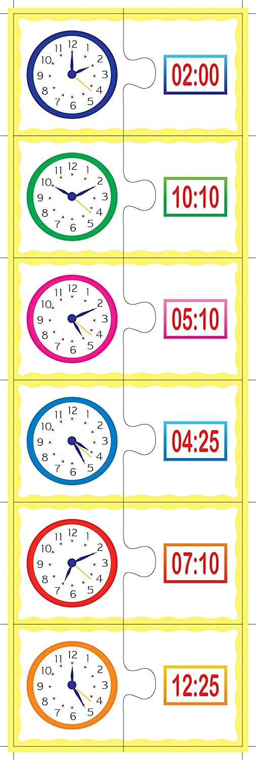 Match The Time Jigsaw Puzzle