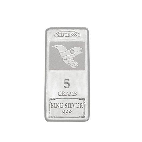 Maa Silver 999 Purity Silver Bar 5gm