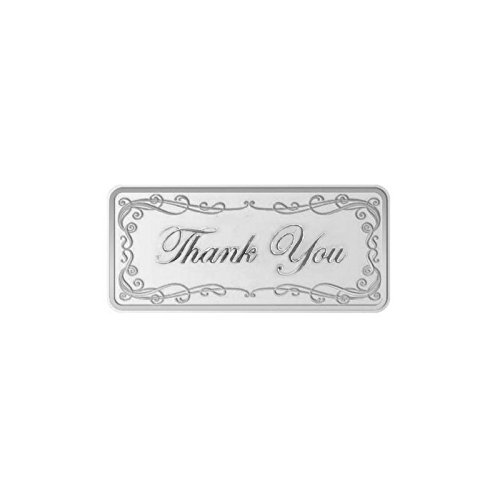 Maa Silver Thank-You 20gm Fine Silver Bar With 999 Purity