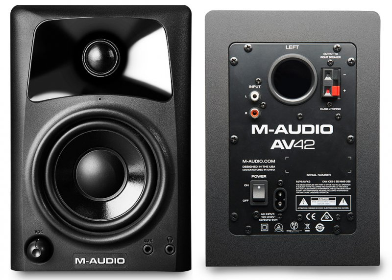 M Audio AV-42 Studio Monitor