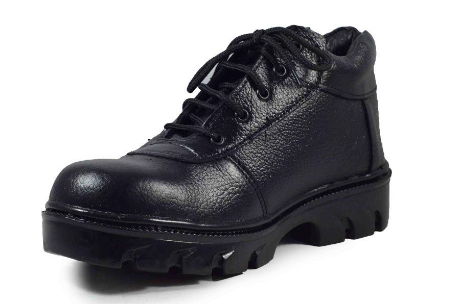 IMCOLUS198.116_BLACK FULLY LEATHER & HIGH QUALITY MEN'S SAFETY SHOES IMCOLUS198.116_BLACK (BLACK, 6-9, 4 PAIR)