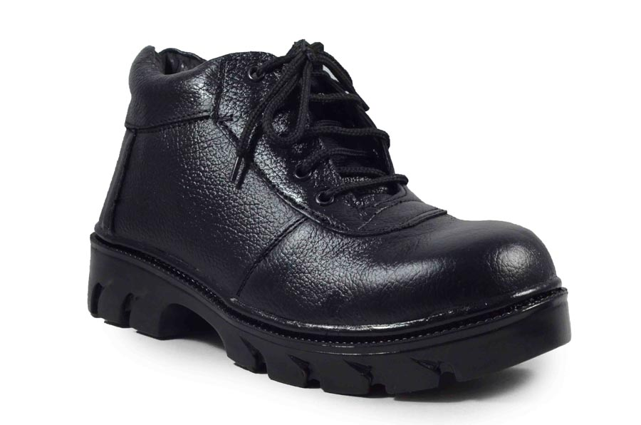 IMCOLUS198.116_BLACK FULLY LEATHER & HIGH QUALITY MEN'S SAFETY SHOES IMCOLUS198.116_BLACK (BLACK,6-9,4 PAIR)