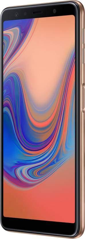 Samsung Galaxy A7 2018 (RAM 4 GB, 64 GB, Gold)