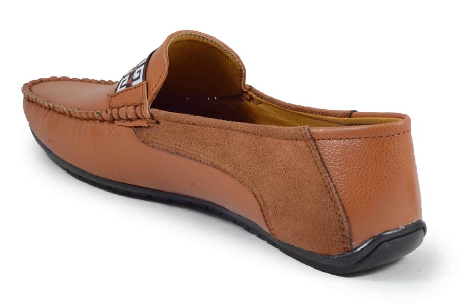 ISHOES.122 STYLESH & PARTYWEAR LOAFER (BROWN,6-10,8 PAIR)