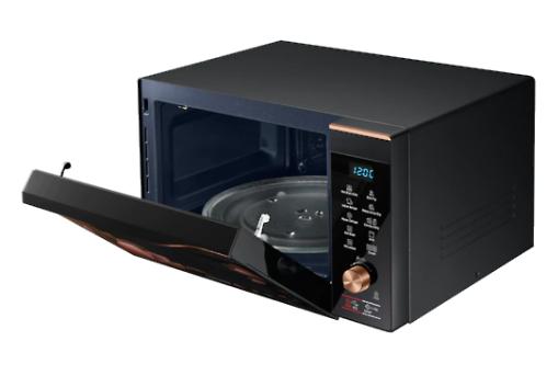 Samsung 32 L Convection Microwave Oven ( MC32K7056CC/TL, Black Safroin Pattern )