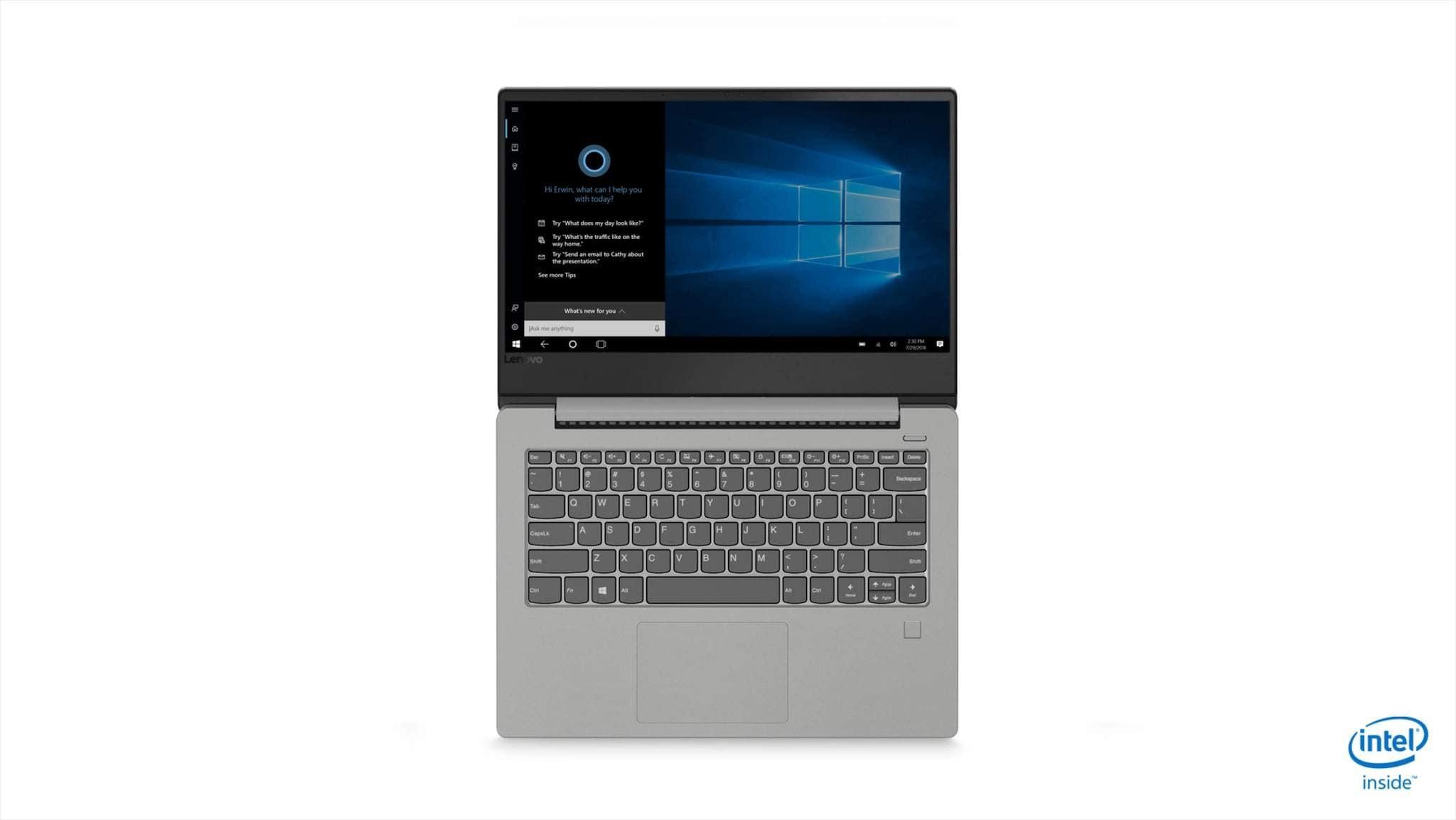 Lenovo Ideapad 330S (Core I3 - 8th Gen / 4 GB RAM / 256 GB HDD / 35.56 Cm (14 Inch) FHD / Windows 10) 81F400GUIN Thin And Light Laptop (Platinum Grey  1.67 Kg)