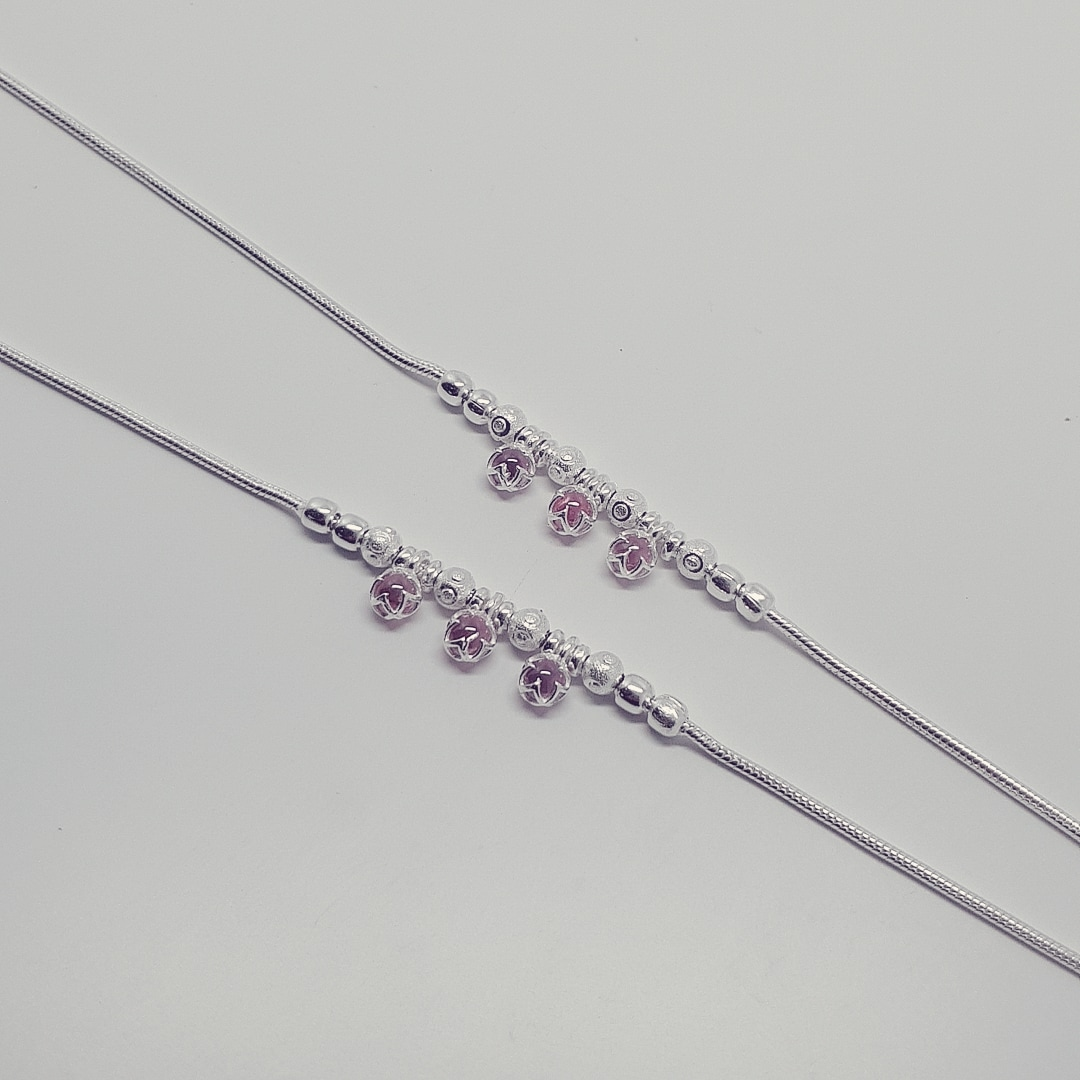 CHETSI FANCY ANKLETS 11INCHES