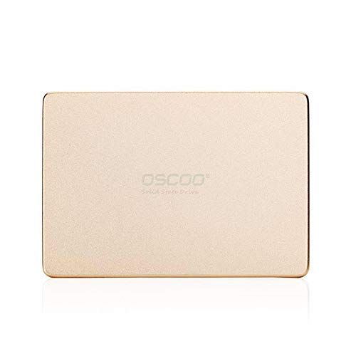 OSCOO 2.5 Inch SATA III Solid State Drive, OSCOO 256GB Internal SSD For Desktop PC Laptop, MacBook