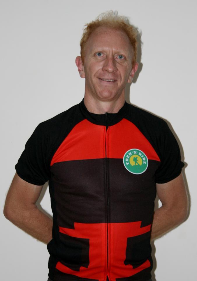 Half Sleeve Cycling Jersey TNR (Red & Black,M)
