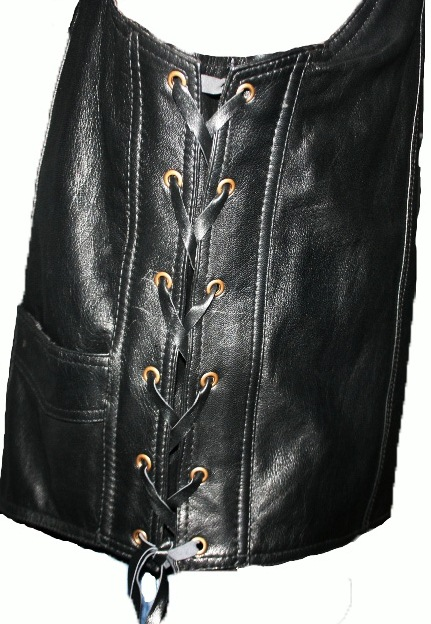 Leather Vest (XL)