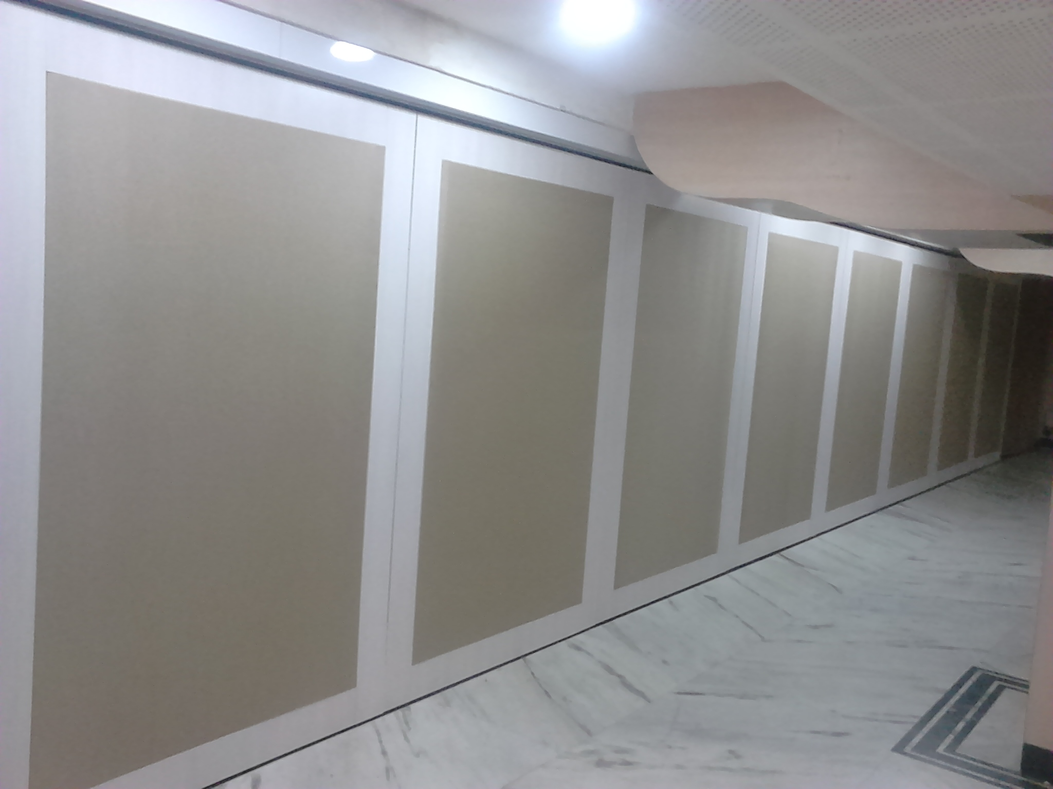 Sliding Folding Stacking Partitions