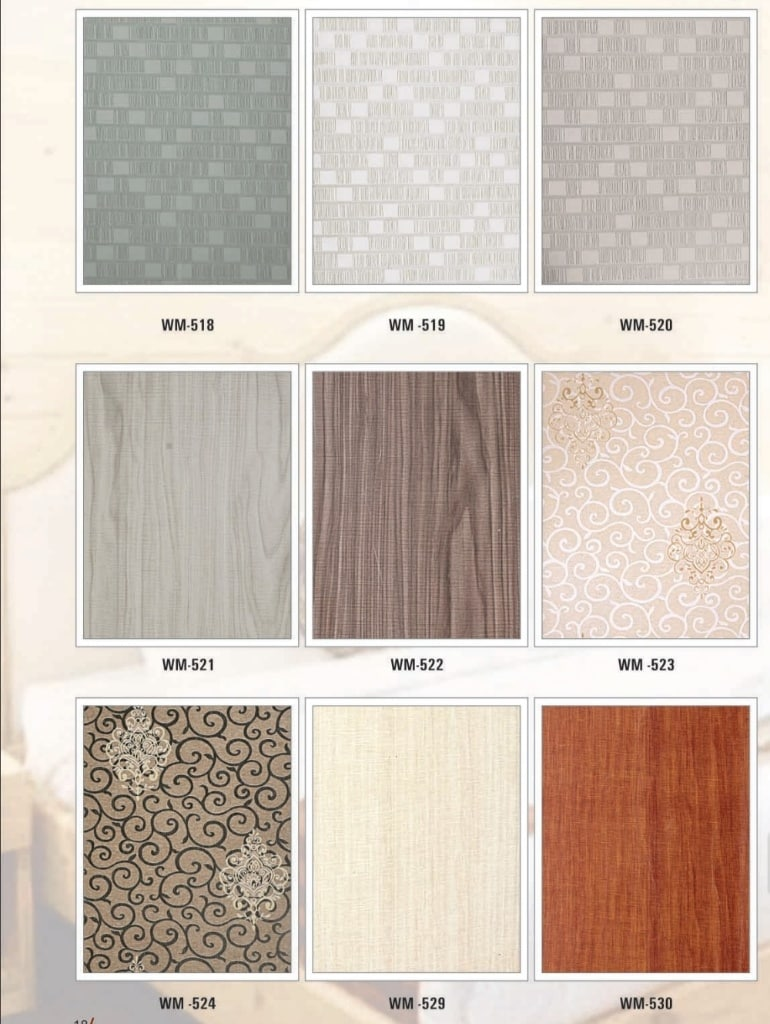 Heavy Series PVC Wall Pannel