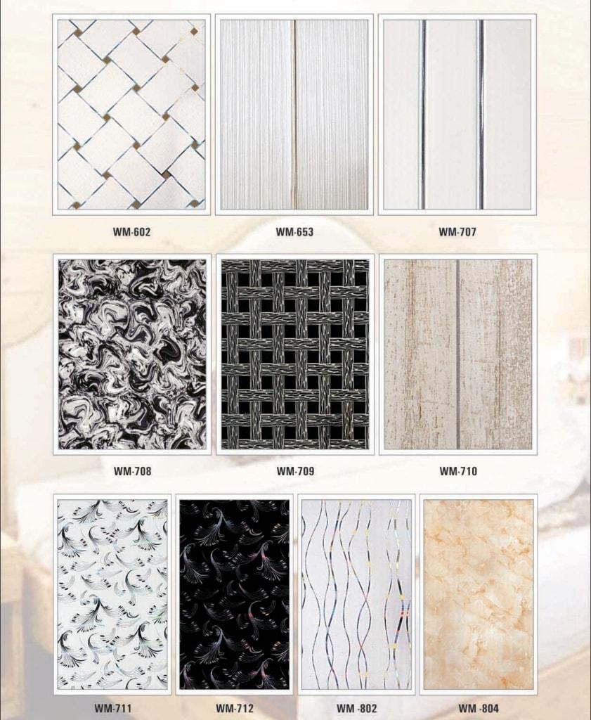 WM-709 PVC Wall Panel