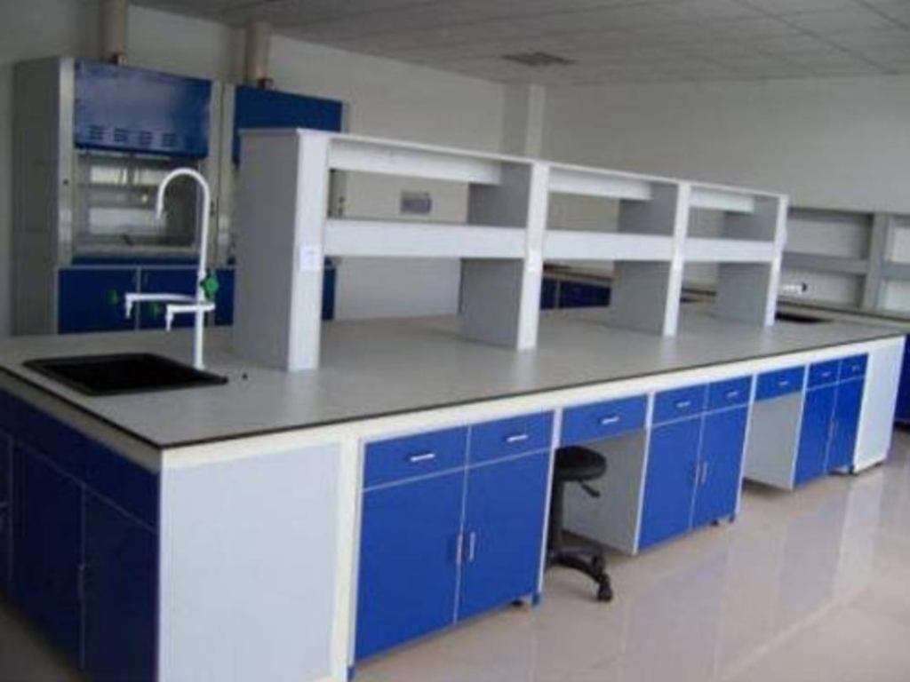 Laboratory Setup With Furniture And Instruments
