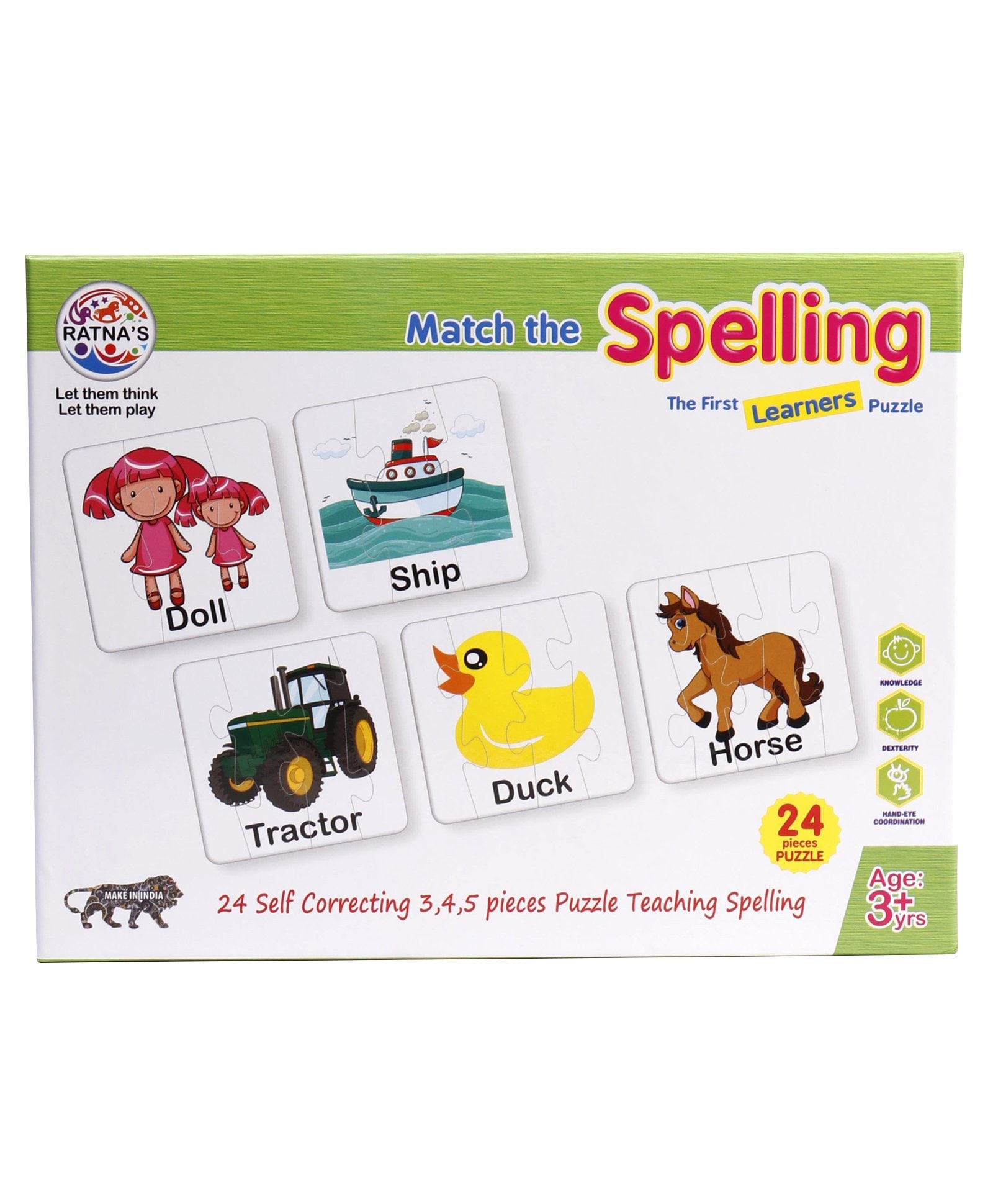 Match The Spelling Jigsaw Puzzle