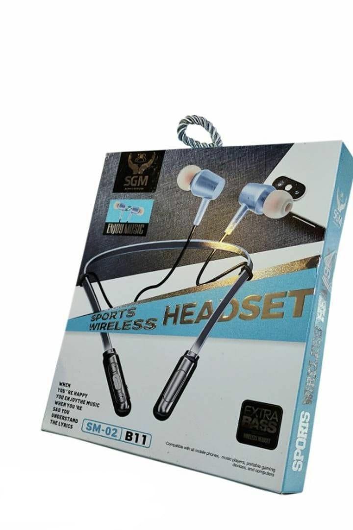 Sporty Neckband Bluetooth Headphones