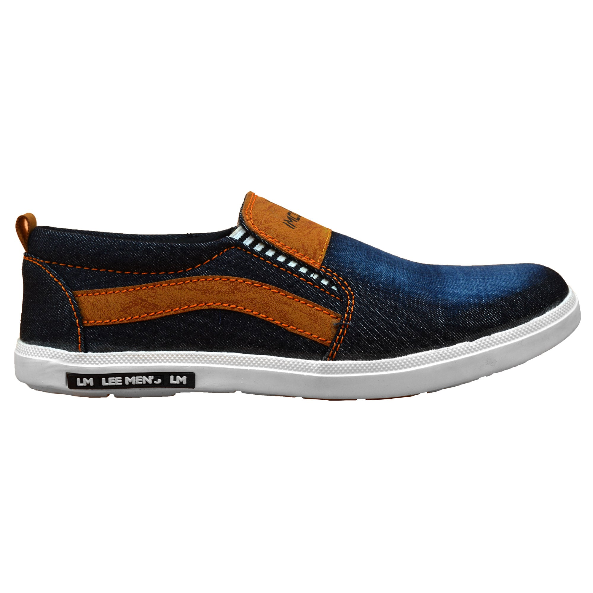 IMCOLUS105.79_BLUE  MENS STYLESH & PARTYWEAR CANVAS SHOES IMCOLUS105.79_BLUE (BLUE,6-9,4 PAIR)
