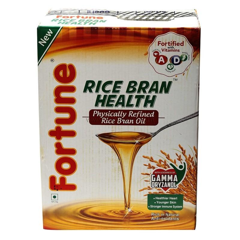 Fortune Rice Bran Oil Tin 15 L