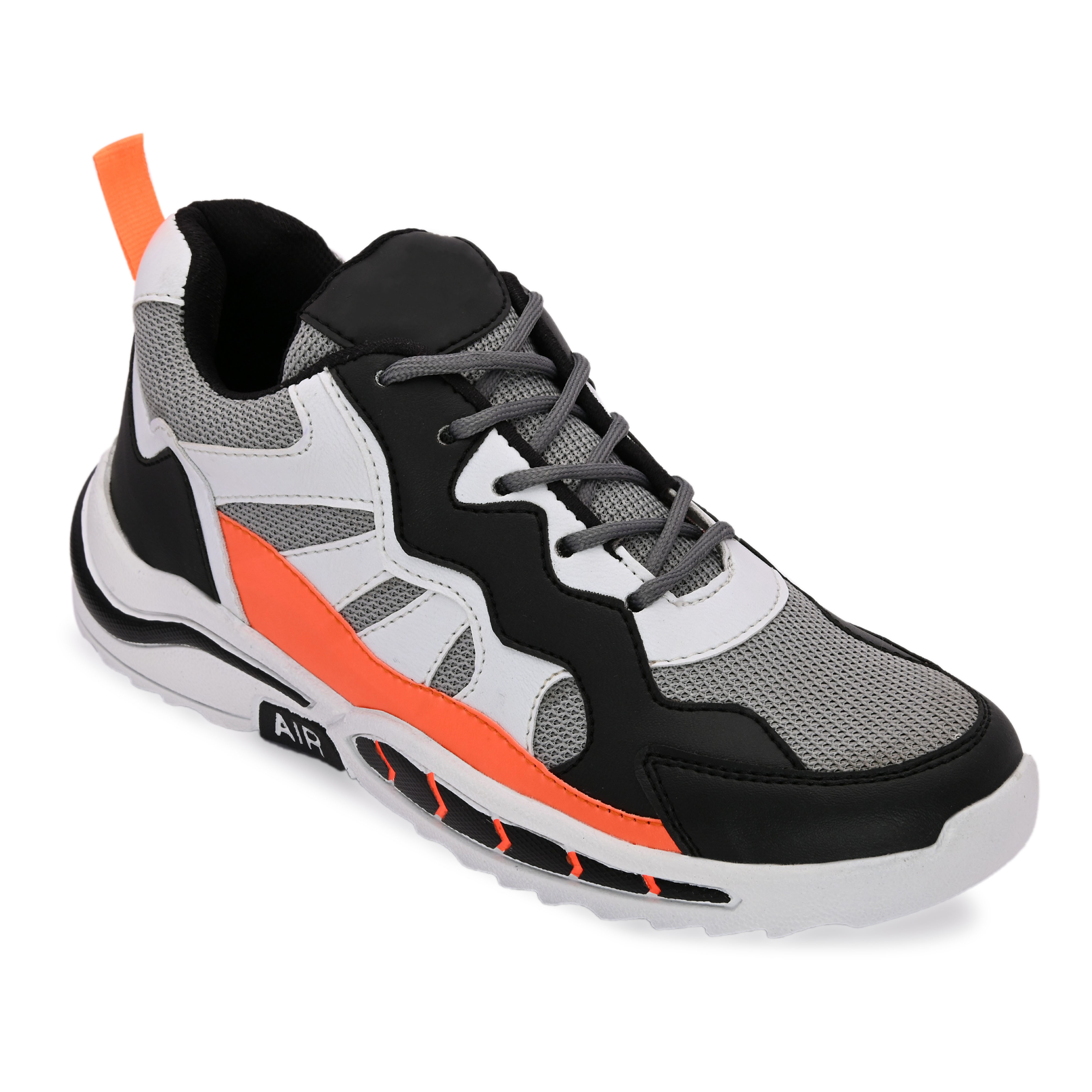 BRIFAR COMFORTABLE & TRENDY SPORTS SHOES ARE RELIABLE FOR ANY BFS0816ORG (6-9, ORANGE, 4 PAIR)