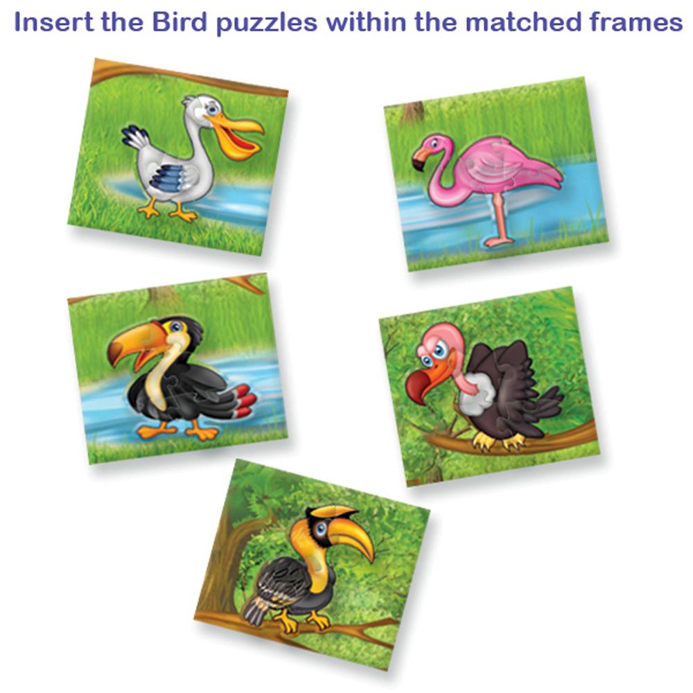 The Big Picture Puzzle - Birds