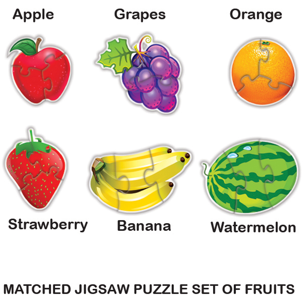 My First Puzzle - Fruits