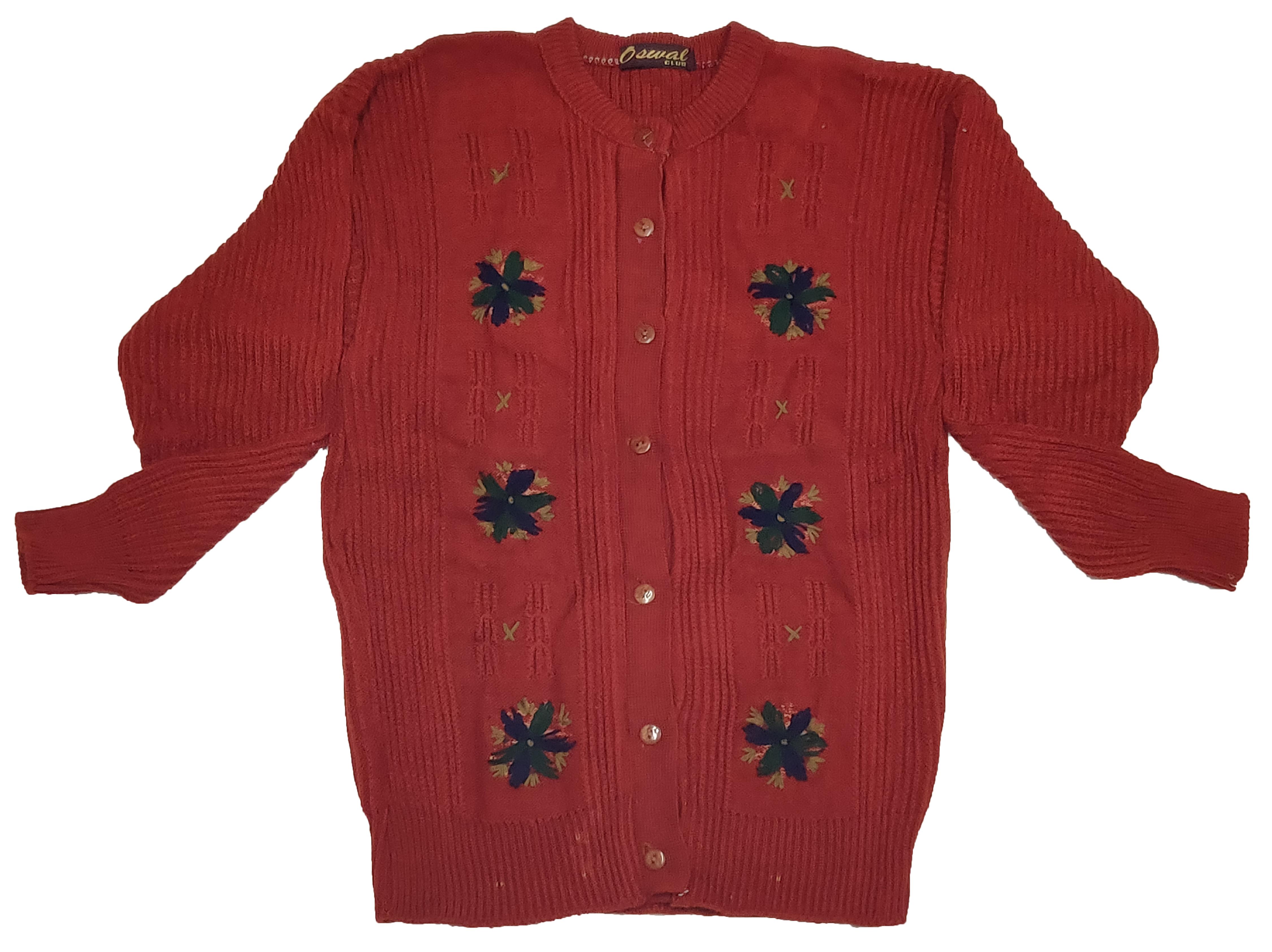 Oswal Wollen Ladies Sweater ( 3 Pcs ) (XL, 265)