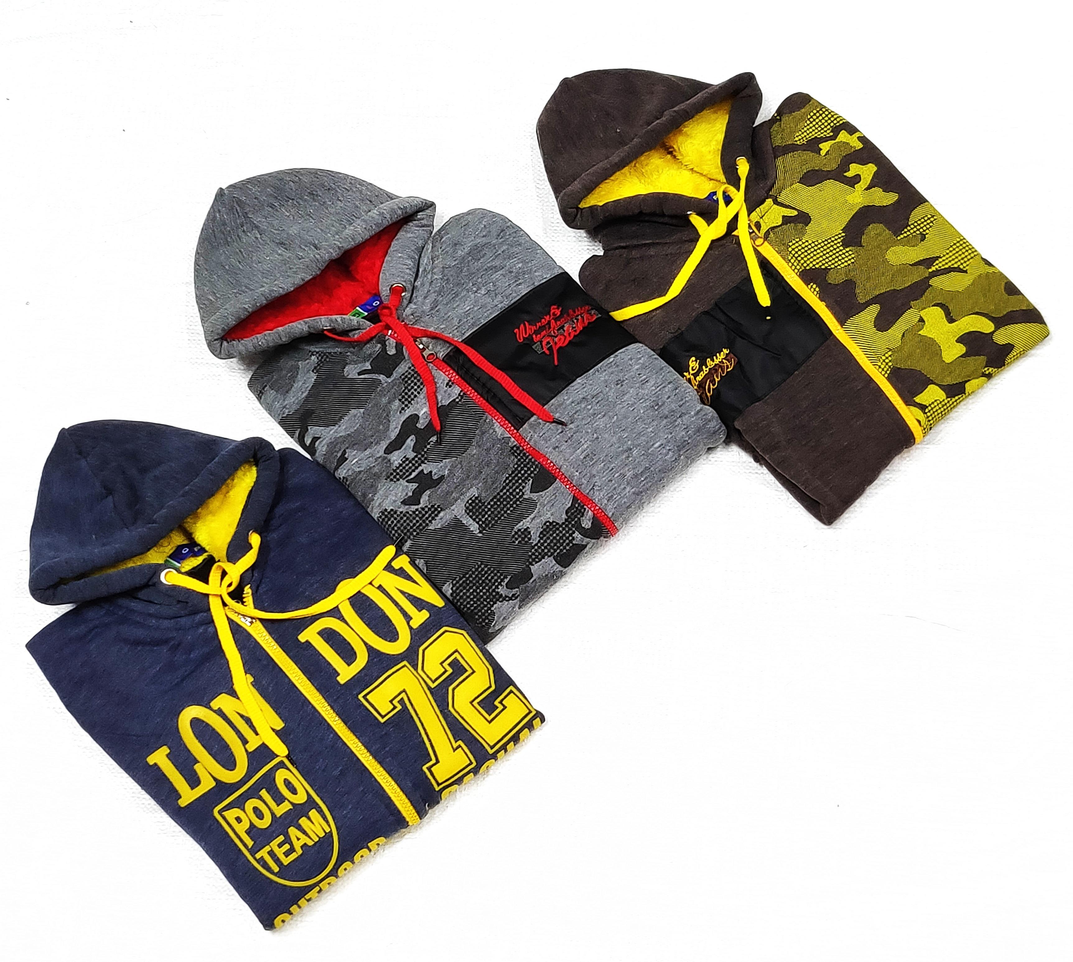Agam Hooded Men's Sweater ( 3 Pcs ) (XL, 240)