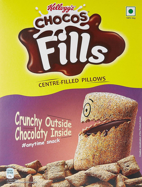 Kellogg's Chocos Fills 250 Gm