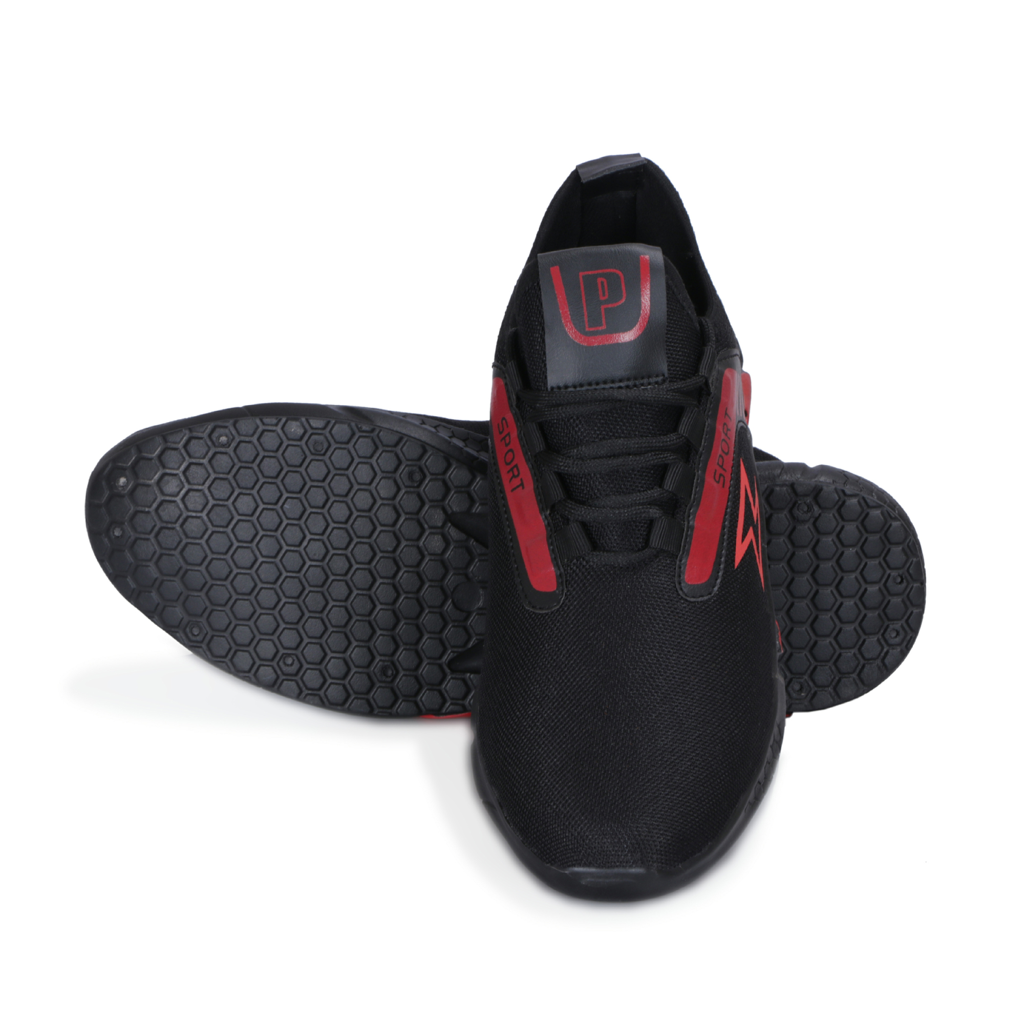 IMCOLUS348.339_RED RUNNING & FANCY MEN'S Sports Shoes SHOES IMCOLUS348.339_RED (RED, 6-9, 4 PAIRS)