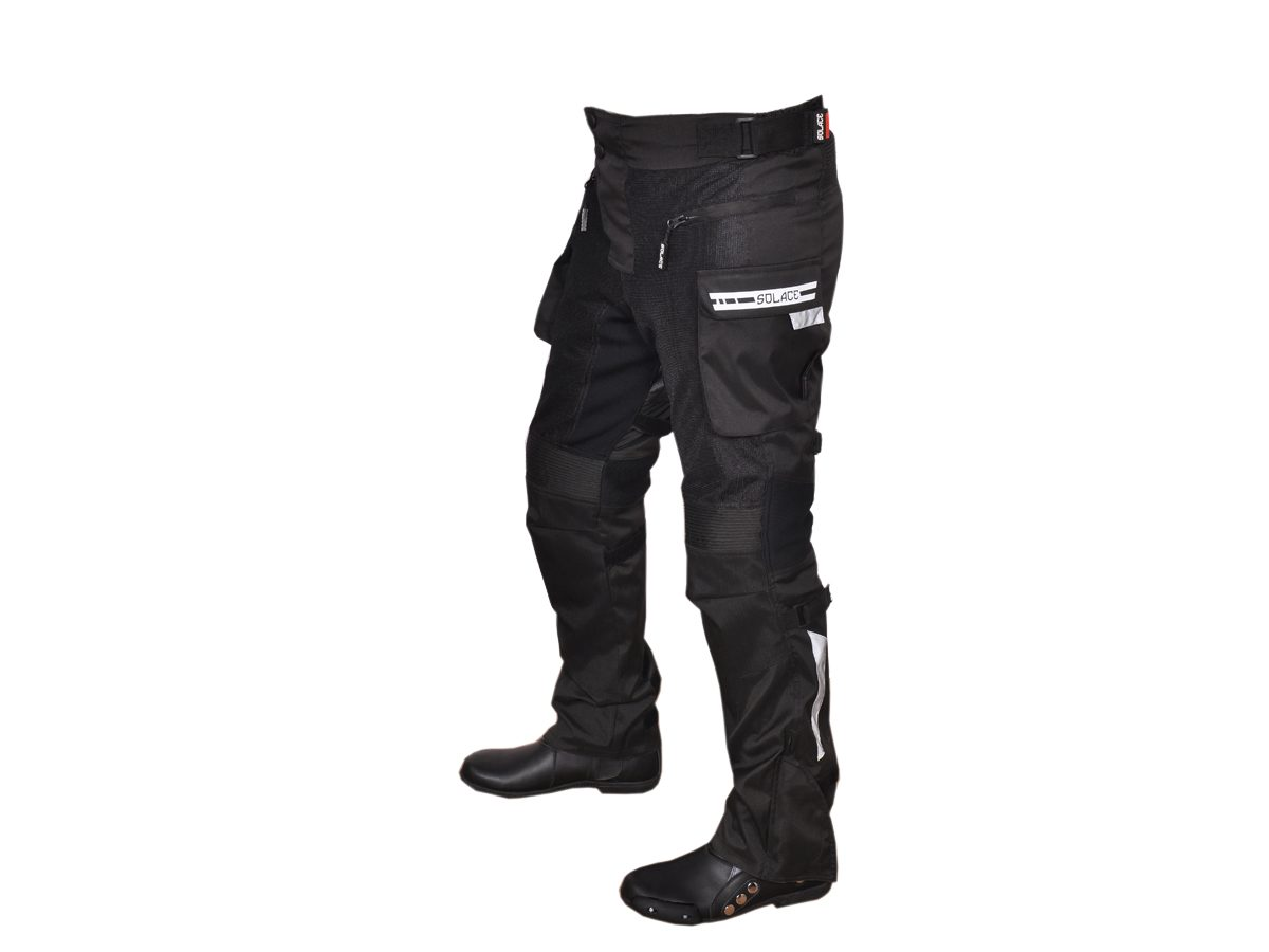 """SOLACE COOLPRO V2.0 Mesh Pant (SMALL-28""""-30″, BLACK)"""