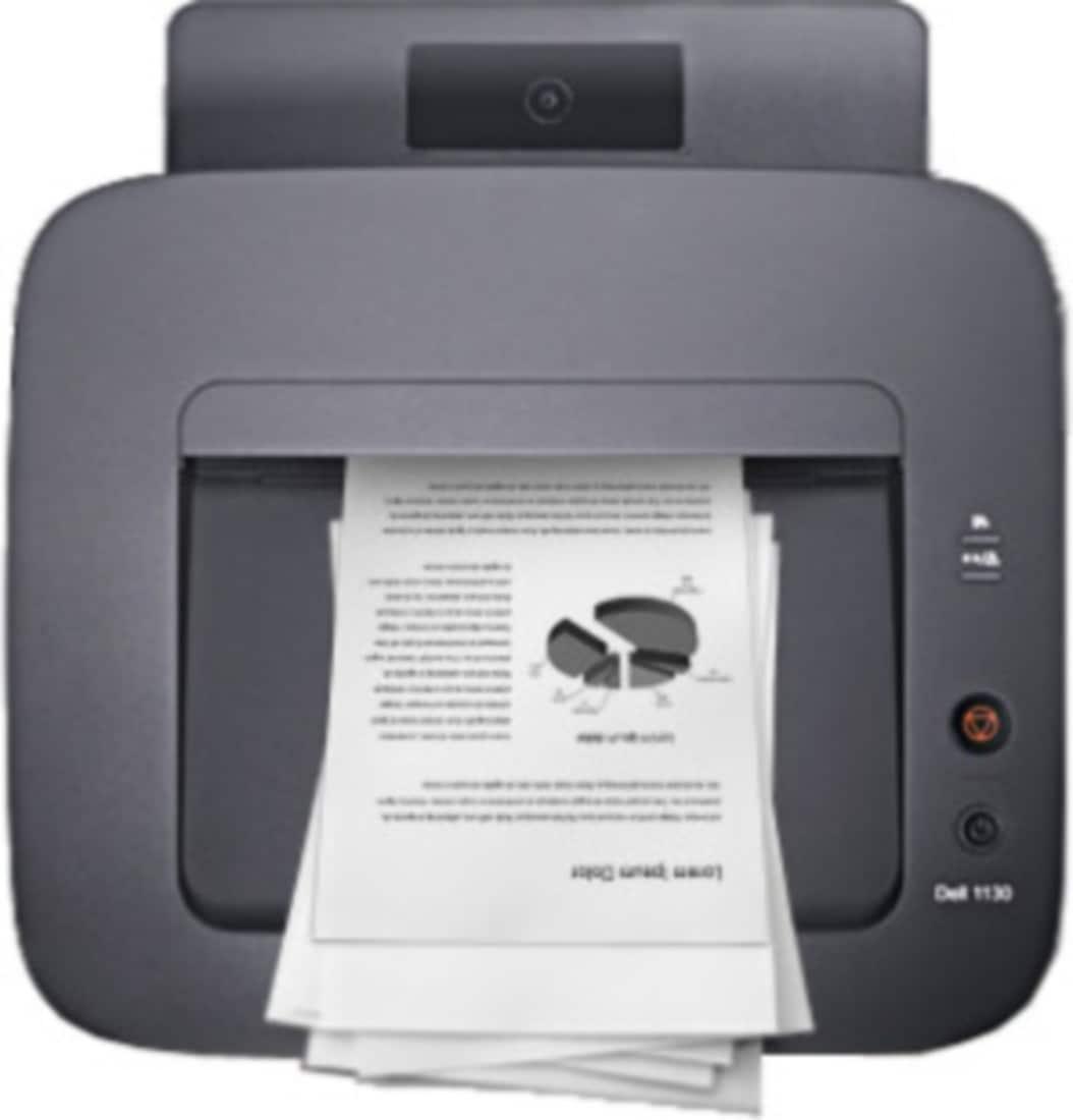 Dell 1130 Single Function Monochrome Laser Printer (Black)