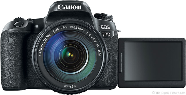 Canon EOS 77D Kit EF-S18-135 IS USM