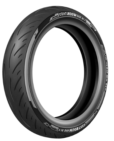 CEAT Zoom Rad X1 F Two Wheeler Tubeless Tyre [110/70 R17 54H]
