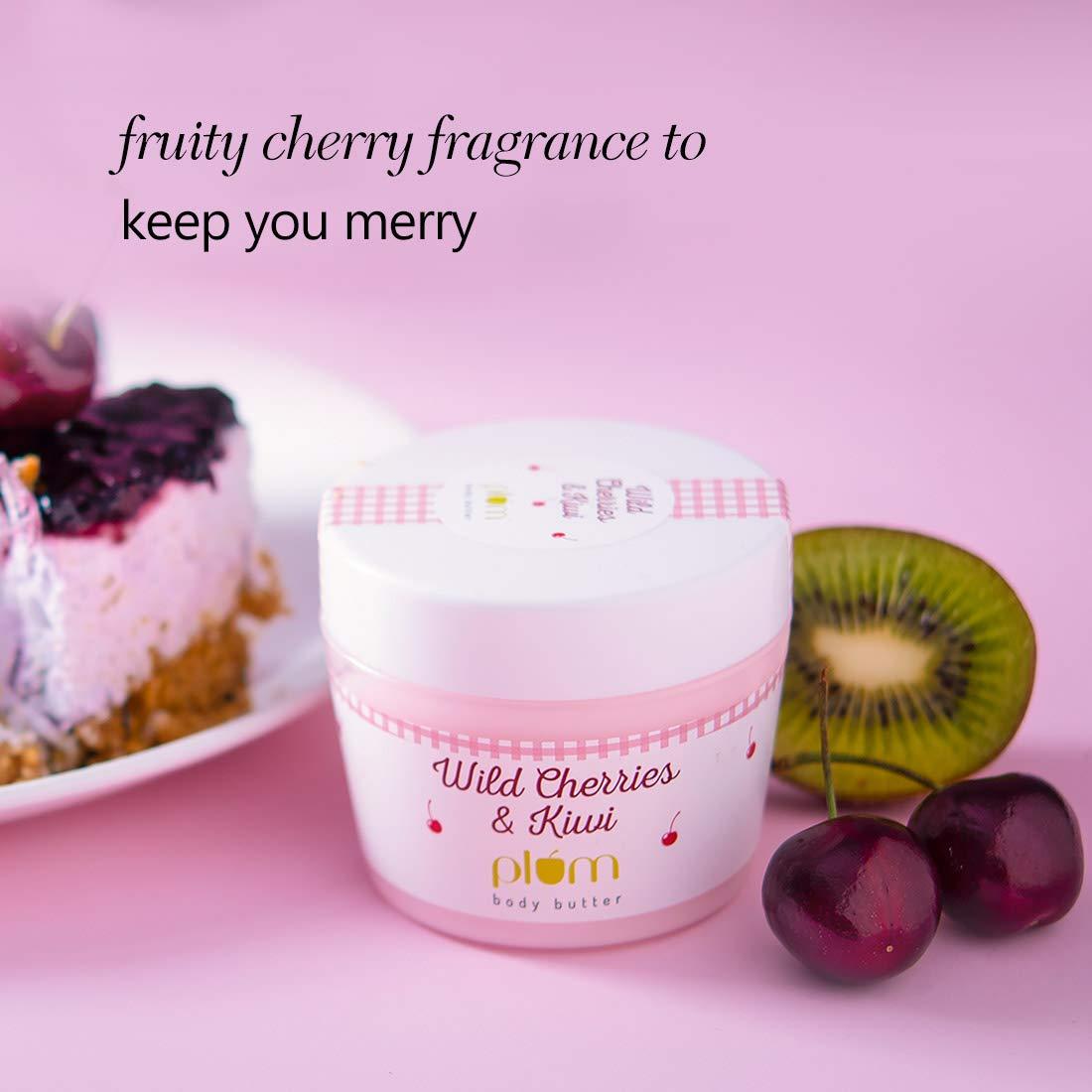 Plum Wild Cherries & Kiwi Body Butter (200 gm)