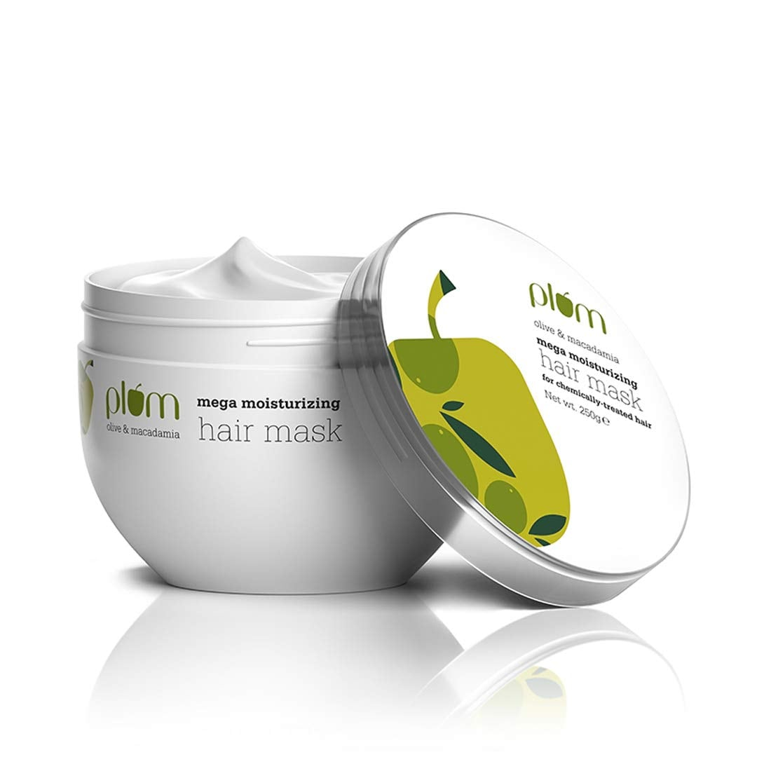 Plum Olive & Macadamia Mega Moisturizing Hair Mask (250 gm)
