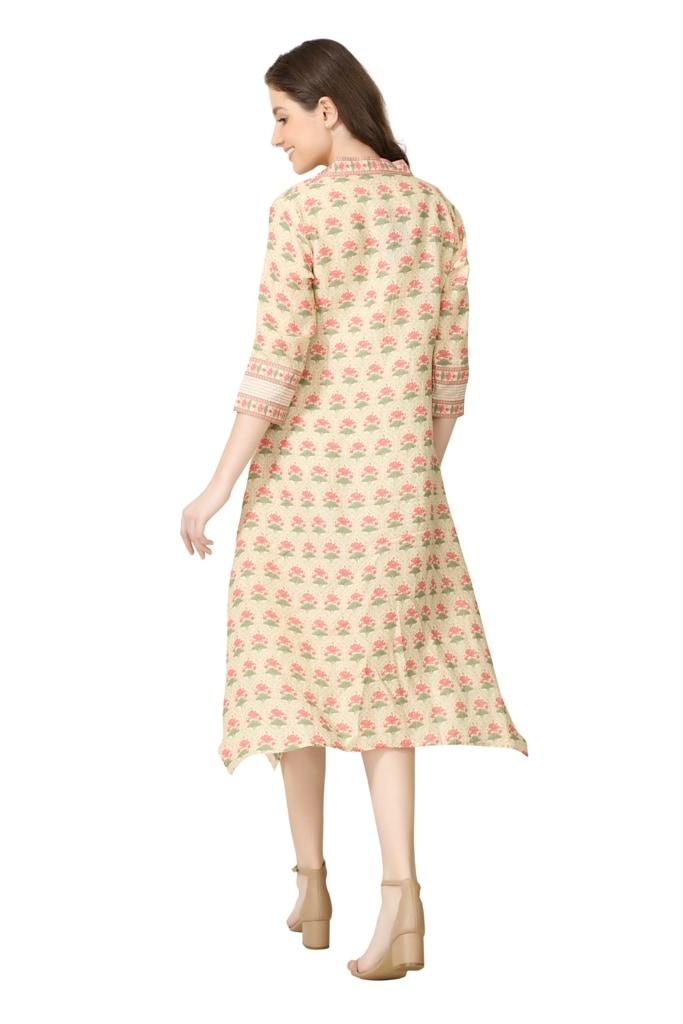 202001 The Sundry Lotus Dress (XS,Yellow)