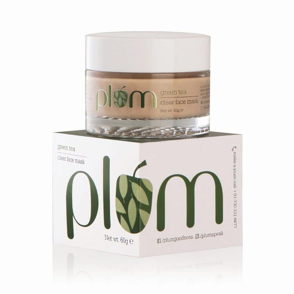 Plum Green Tea Clear Face Mask (60 gm)