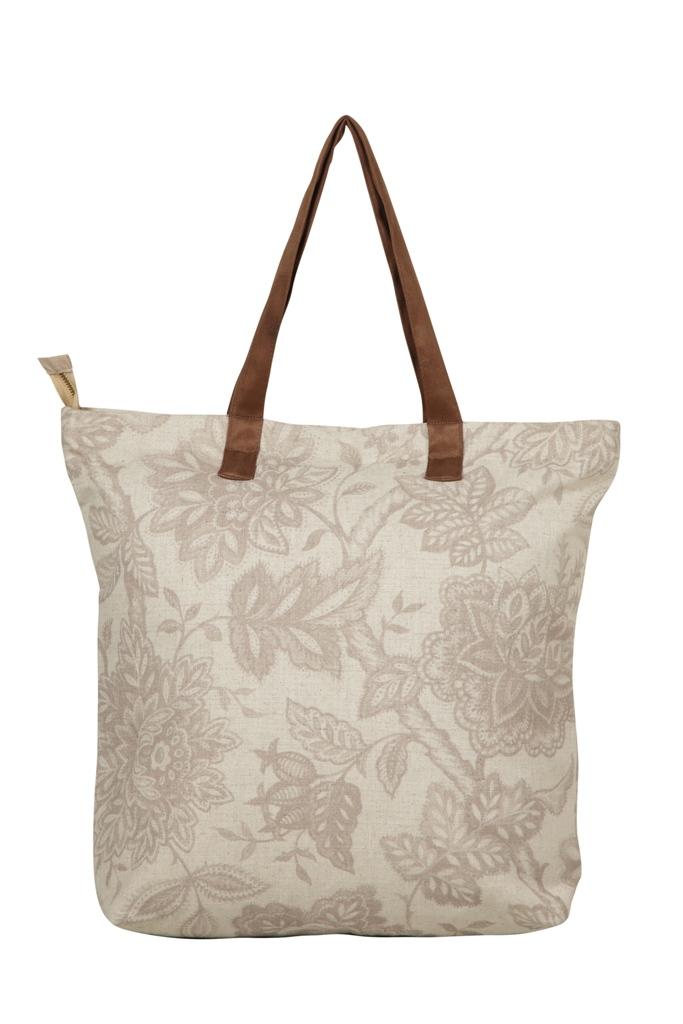 Lite Cinnamon Tote Bag S - Light Gey (L,Light Gey)