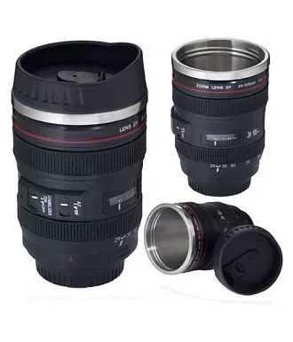 Konvex Camera Lens Coffe Mug