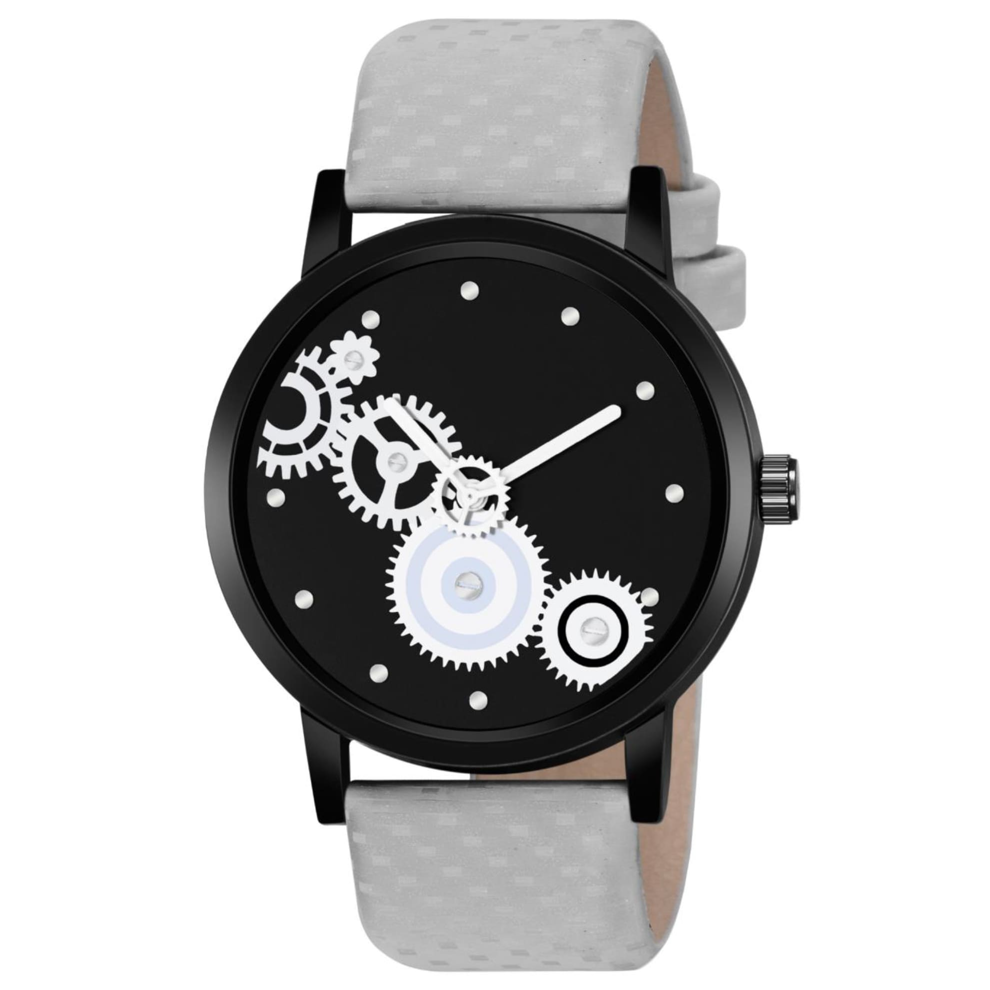 Fashion Now Black Dial Men Casual Wrist Watch