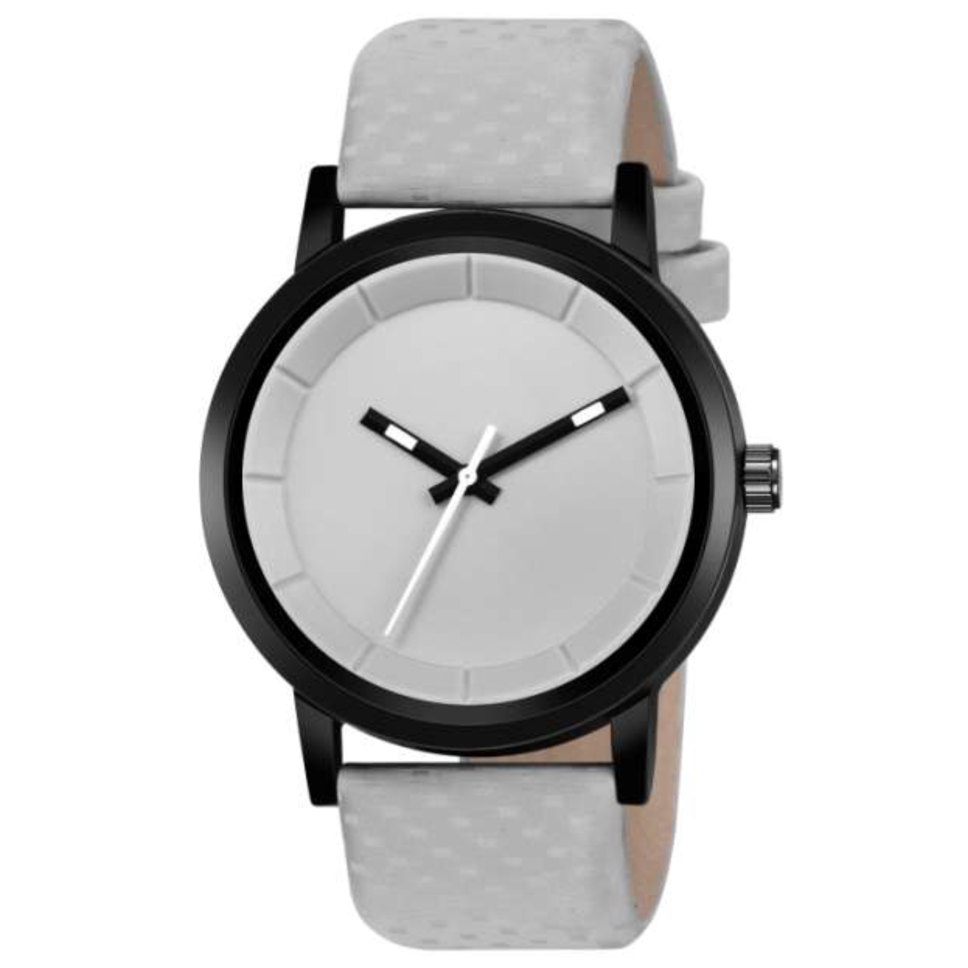 Fashion Now Casual And Office Wear Men Watch (Grey)