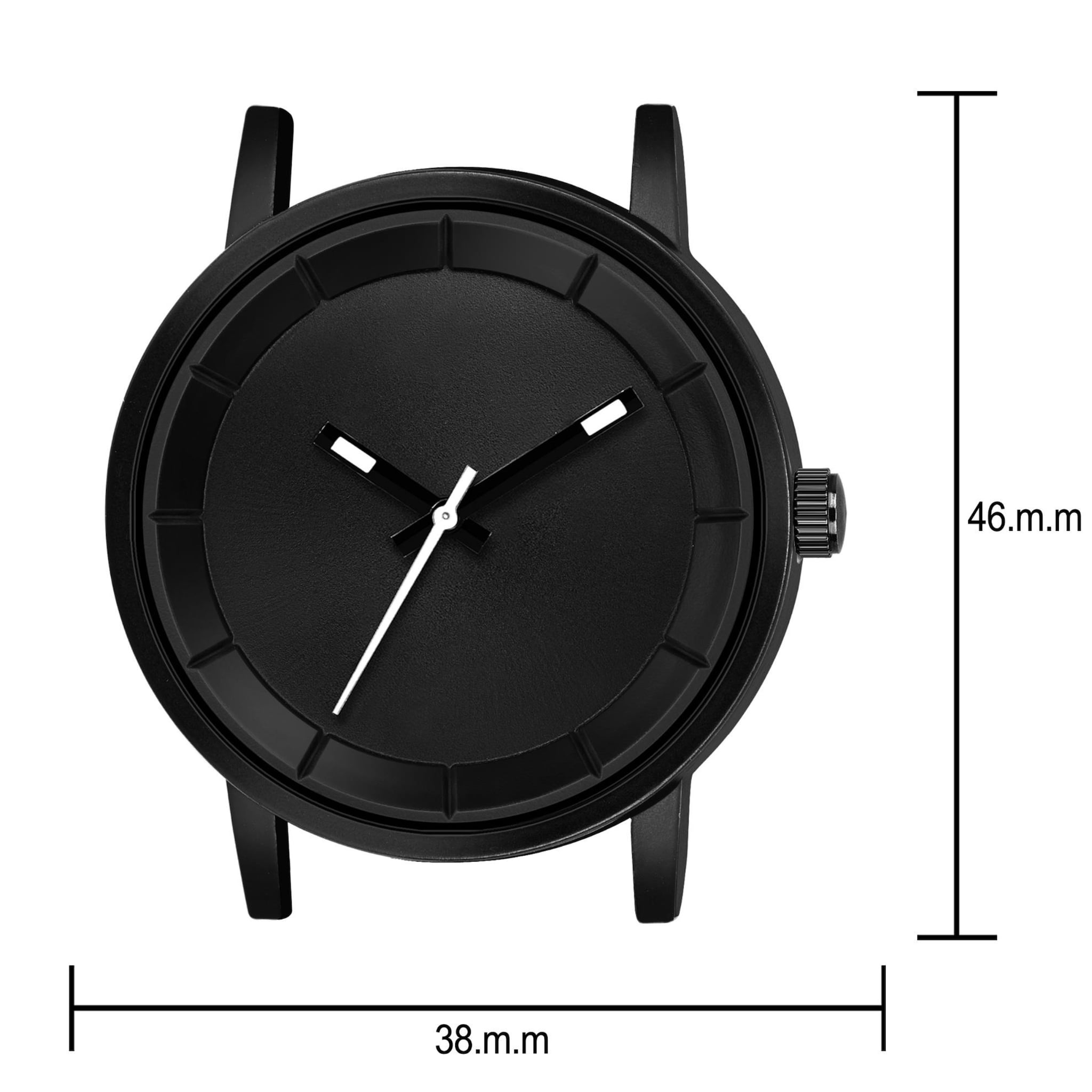 Fashion Now Casual And Office Wear Men Watch (Black)