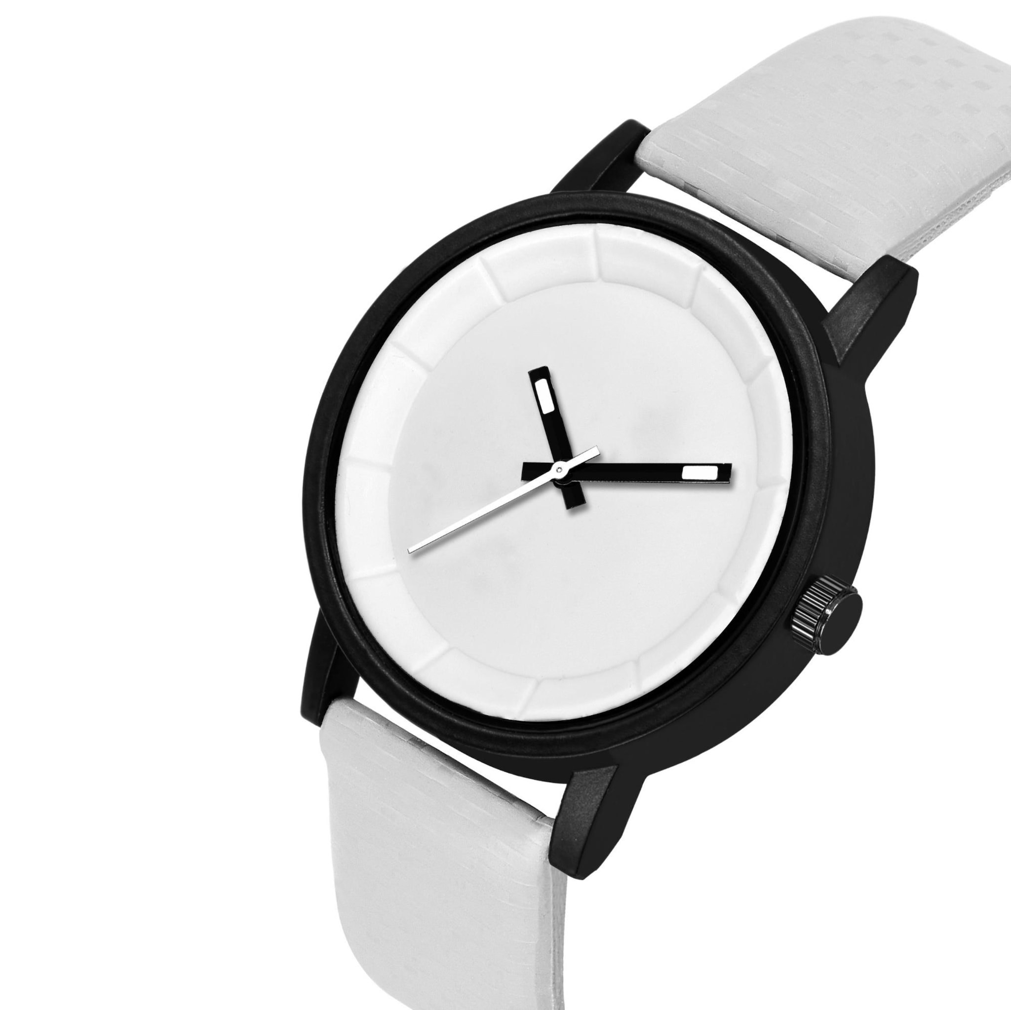 Fashion Now Casual And Office Wear Men Watch (White)