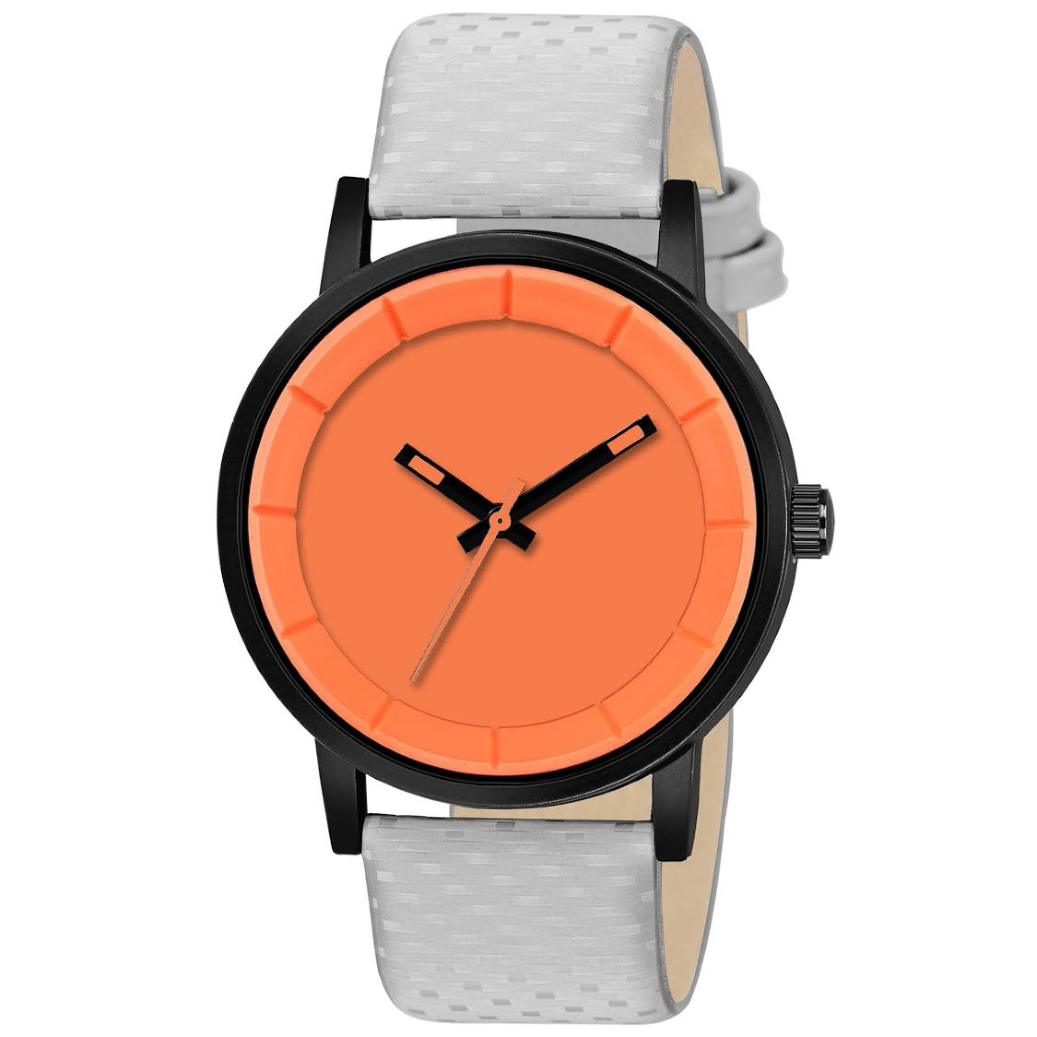 Fashion Now New Look Formal Men Wrist Watch (Orange)