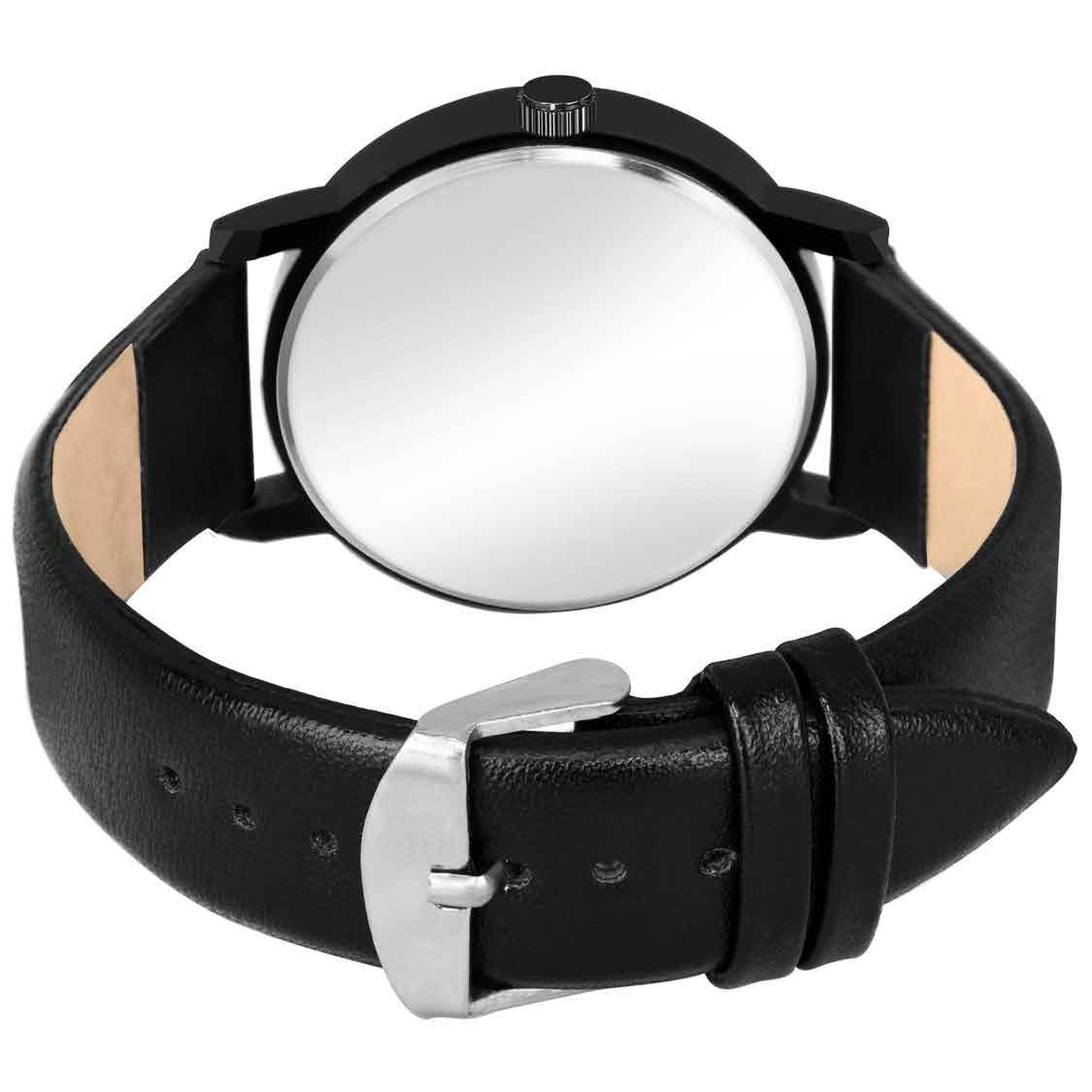Fashion Now Trendy Fancy Black Dial Men Sports Wrist Watch