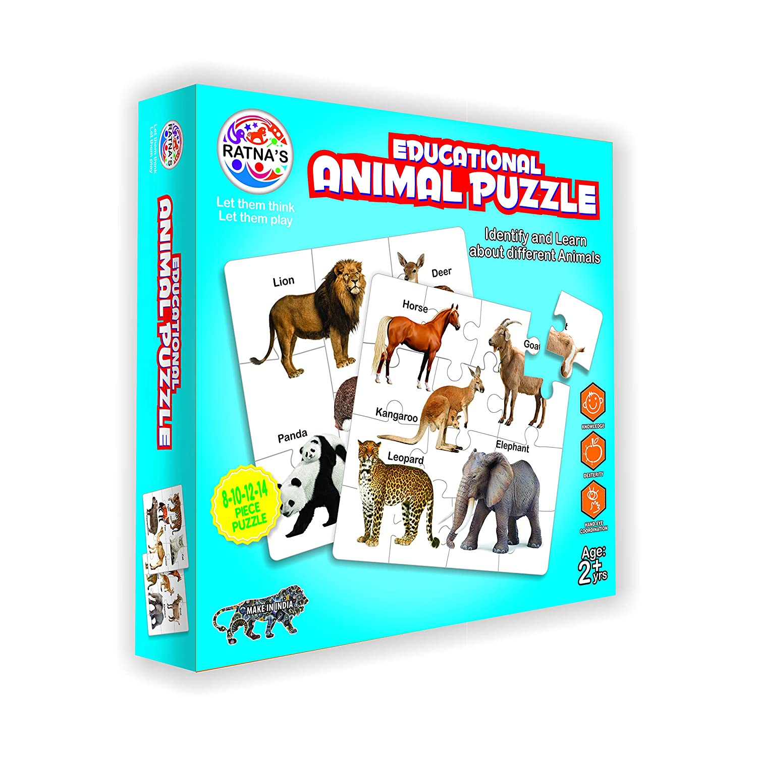 Educational Animals Jigsaw Puzzle