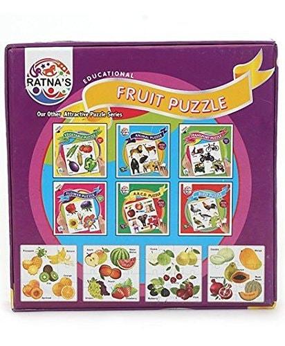 Educational Fruit Jigsaw Puzzle