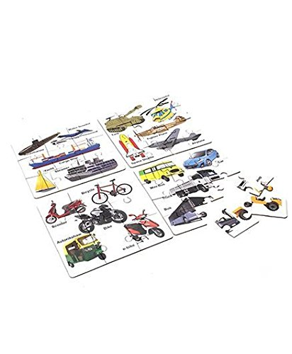 Educational Transport Jigsaw Puzzle