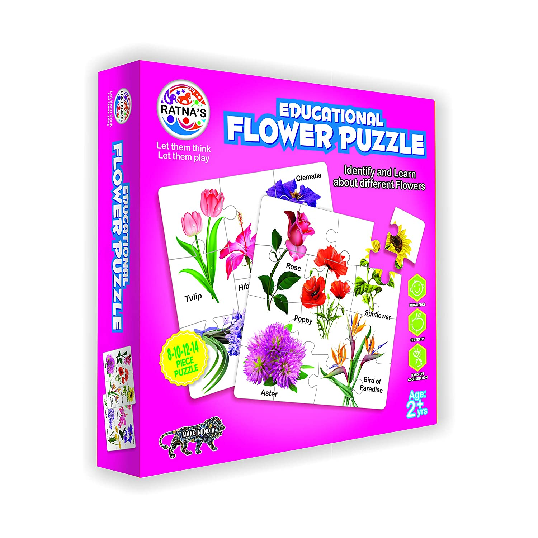Educational Flower Jigsaw Puzzle