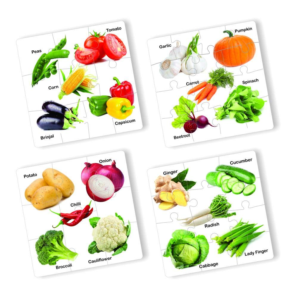 Educational Vegetable Jigsaw Puzzle